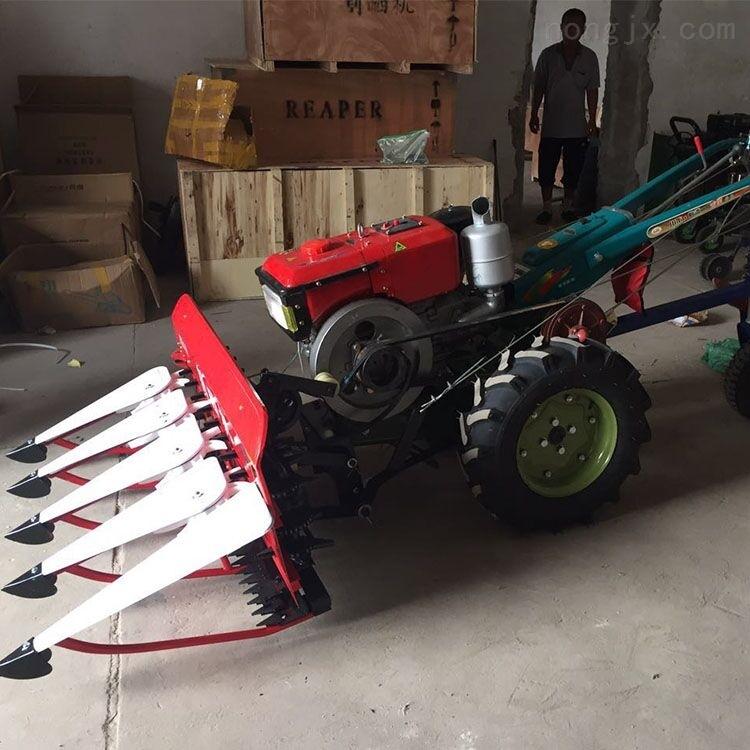 四轮前置式芦苇谷子杆收割机