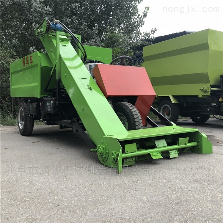 机械化清理牛粪刮粪车 四驱自卸式清粪车
