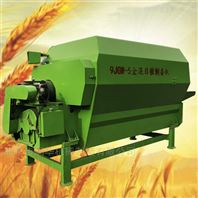 四轮牵引式TMR搅拌机 卧式秸秆草料拌料机