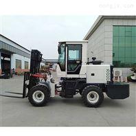 越野叉车四驱3吨5吨微型起重车多功能