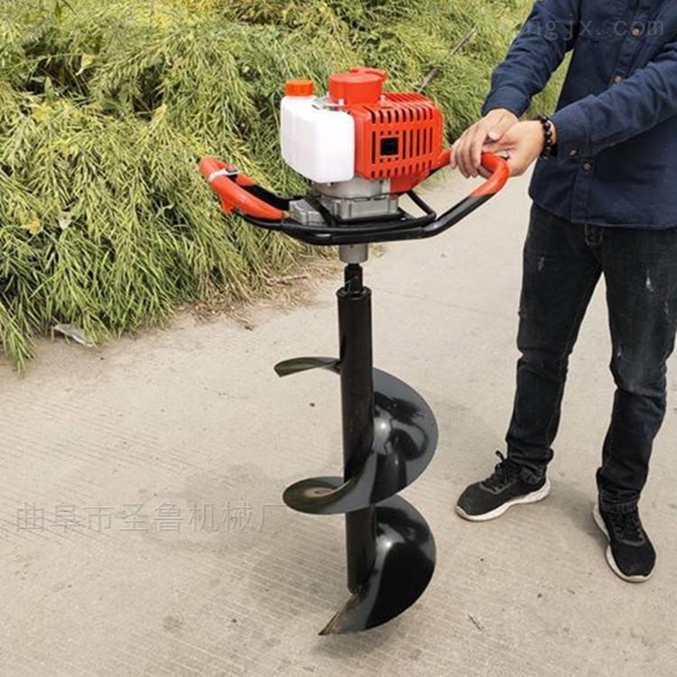 潍坊农用大马力汽油挖坑机