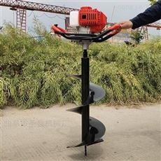 加工定制两冲程手提式1米深度移苗挖坑机