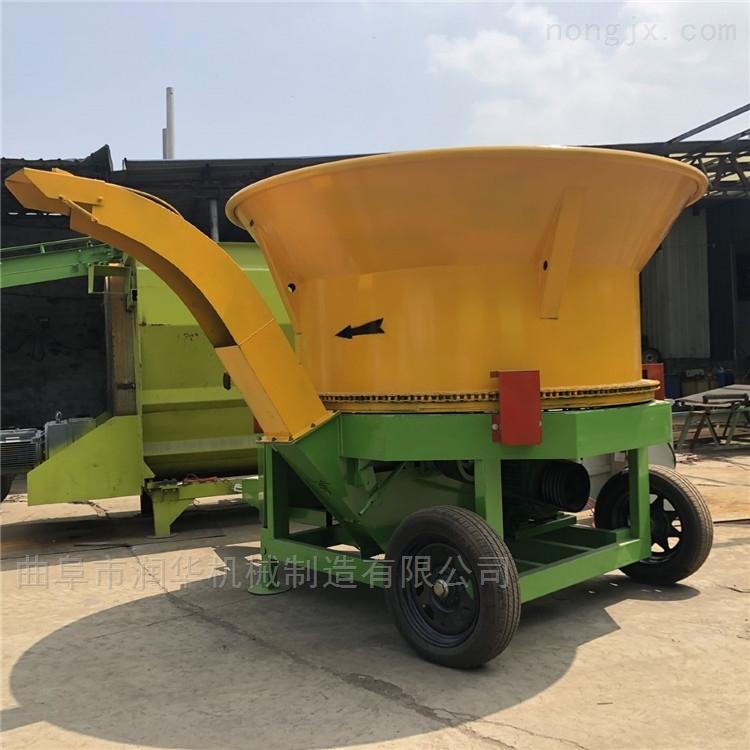 草捆粉碎机生产厂家 自动旋切式秸秆粉草机