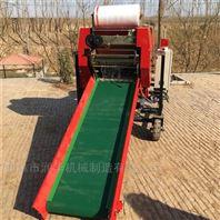 全自动牧草打包机 玉米秸秆饲料包膜机