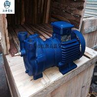 华潮牌2BV-6110真空齿轮油泵漏水原因及办法
