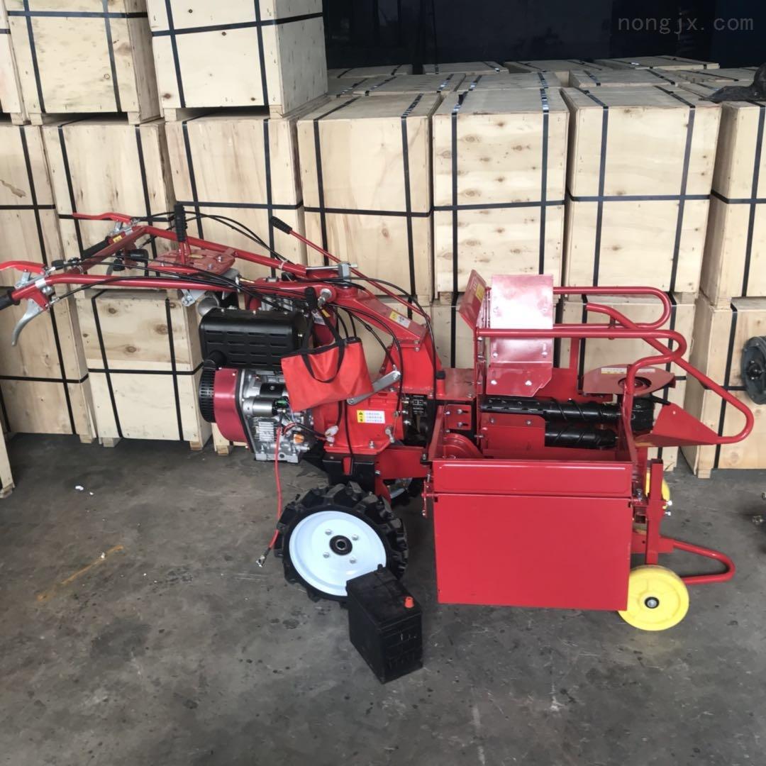 承德手扶拖拉机单行玉米收割机