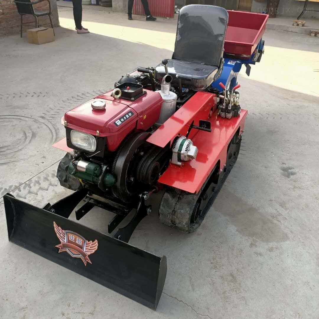 履带拖拉机培土机