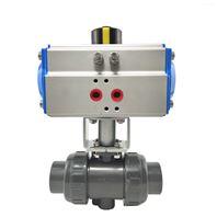 气动塑料对焊SQ611UPVC/RPP高平台活接球阀