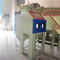 中山铁件除锈翻新手动喷砂机