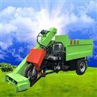 柴油机动力牛场清粪车 养牛粪便刮粪车