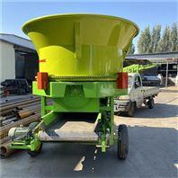 旋切式稻草秸秆粉碎机 大型草捆粉草机