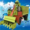 RH-QFC-2大马力牛圈三轮清粪车 自卸式粪便清理车